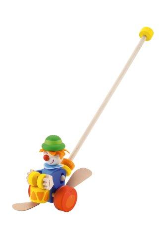 Sevi 82190 Pushalong Toy Clown