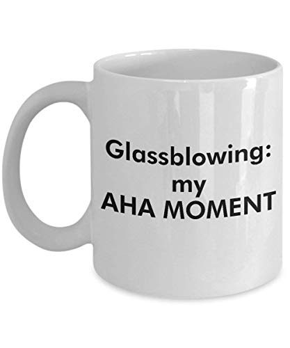 XIEXING Strong Stability Durable Glassblowing Kaffeebecher – Clever and Silly Gift Idea - A Comical and Witty Ceramic Coffee Cup, Always a Dramatic Surprise - 11 oz