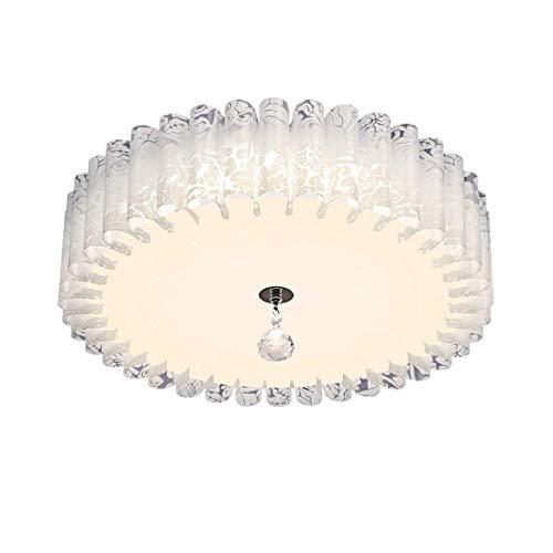Camera da letto led lampada da soffitto semplice moderna lampada creativa la carta pergamena lampada soggiorno ristorante studio luce a soffitto 38cm bianco caldo 15w nessun controllo remoto