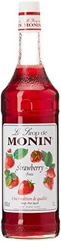 Le Tirop De Monin Strawberry Syrup, 1 Litre