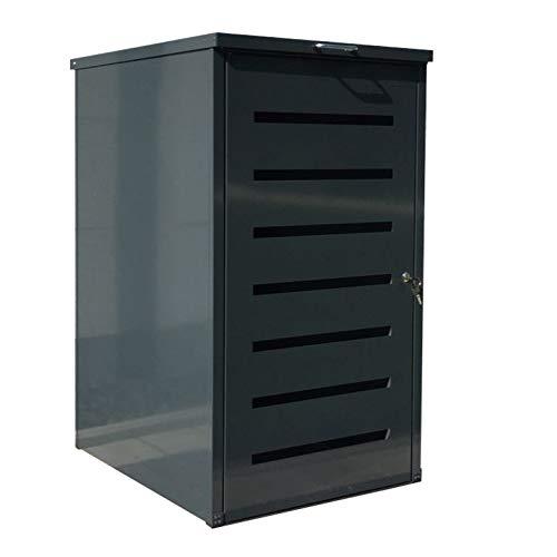 Easy Tailor Mülltonnenbox für 120 Liter Mülltonnen Anthrazit RAL 7016 (1)