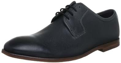Clarks Euston Walk, Chaussures de ville homme - Noir (Black Leather), 41.5 EU (7.5 UK)