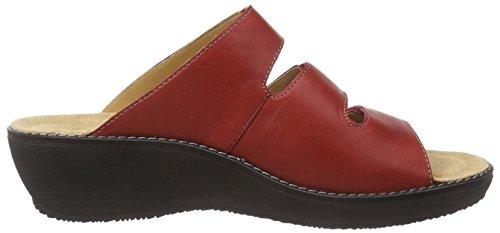 Ganter - Gracia, Weite G, Pantofole Donna Rosso (rosso 4100)