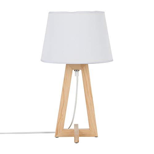 KASA Lámpara de Mesa y Mesilla de Noche