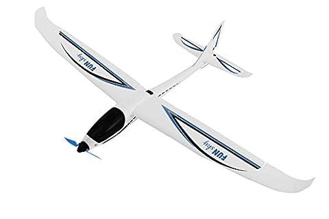 XciteRCFunSky 21501100 4Channel Remote Control Airplane RTF Glider, Blue