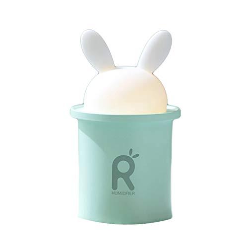 Ultraschall Luftbefeuchter Für Baby Schwangere Cartoon Kaninchen 250 ML USB Ätherisches Öl Diffusor LED-Licht Lampe Auto Luftreiniger