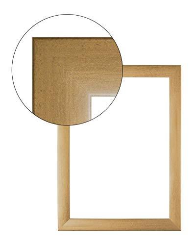 Olimp PRORSUS 35mm Bilderrahmen 36x48 cm in Gold gewischt mit Antireflex-Acrylglas