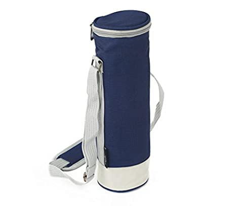 Greenfield Collection Solo Navy Blue Wine Cooler Bag