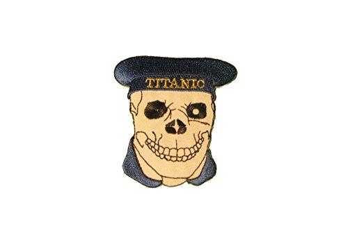 Preisvergleich Produktbild Biker Patch - Aufnäher - Aufnäher - Kutte - Titanic Aufbügler Patch - T51