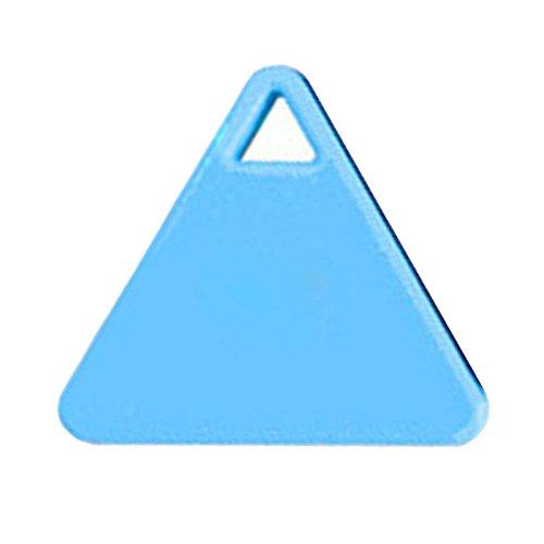 Kabellose Bluetooth 4.0Schlüsselfinder Diebstahlschutz Alarm Gerät Tracker GPS Locator Schlüssel/Hund/Katze/Kids/Portemonnaie Finder Tracer für iPhone Android 4.3(TIRANGLE Form)