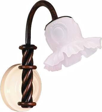 Luci per specchio bagno progettazione ferro battuto - Amazon illuminazione bagno ...