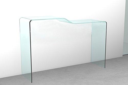 Tavolo Consolle vetro Scalino | Negozio di tavoli moderni