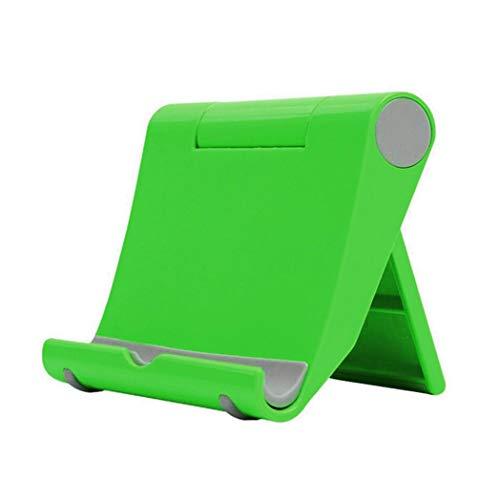 6SlonHyPortable Handyhalterung Universal Folding Desktop Handy Tablets Halter St?nder Halterung - Gr¨¹n -