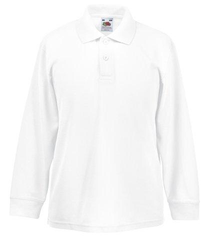 Kinder Langarm Polo 65/35 Shirt Kids T-Shirt - Shirtarena Bündel