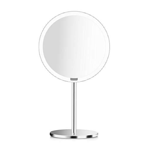 Wuchance Portable LED Kosmetikspiegel mit Licht Dimmable Motion Sensor