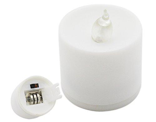 ose LED-Kerzen Licht Lampe Leuchten Nachtlicht mit Batterien Farbe Veränderung (Leuchten Luftballons Großhandel)
