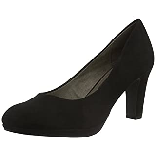 Tamaris Damen 22420 Pumps, Schwarz (Black 001), 36 EU