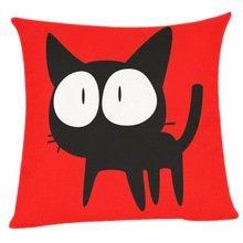 B Lyster Shop überrascht Katze # 5611W 18x 18Kissen Fall Home Decor Kissenbezug