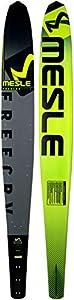 MESLE Monoski Freecarve 69, Slalom Ski bis 120 kg, Tunnel Wasser-Ski für...