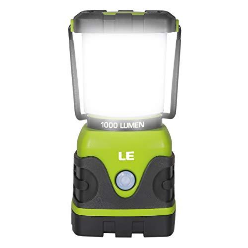LE Lanterna LED, 4 Modalità 10W 1000lumen Lampada Campeggio Impermeabile per Emergenze...
