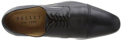 Pellet CV Duc, Chaussures de ville homme Noir (Sake Noir)