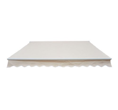 Homcom Markisen Aluminium-Gelenkarm-Markise, beige
