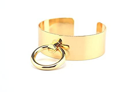 Simple Cirle of Copper Metal Bracelet Geometric Bangle