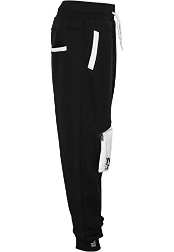 Urban Classic Dance Zip Sweatpants UD065 Noir