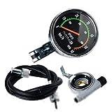 CplaplI Accessori Ciclismo, Bicicletta Impermeabile cronometro Meccanico cronografo contachilometri Ciclismo RPM
