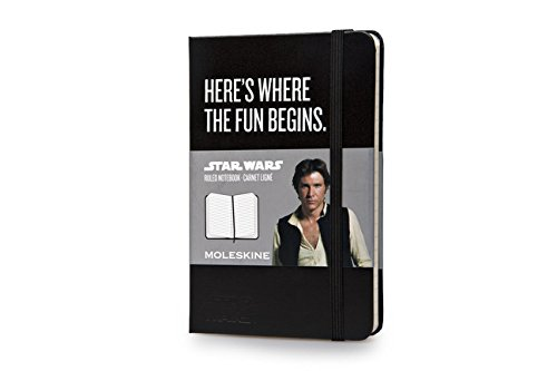 Star Wars Moleskine Star Wars Limited Edition Hard Ruled Pocket Han Solo Notebook (2014)