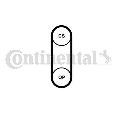 CONTITECH CT1204 Zahnriemen