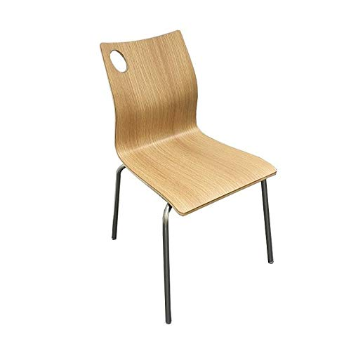 WHYNOTHOME WH510.SAMEL8016 Pack DE 4 SILLAS, Madera 8016, 85 x 49 ...