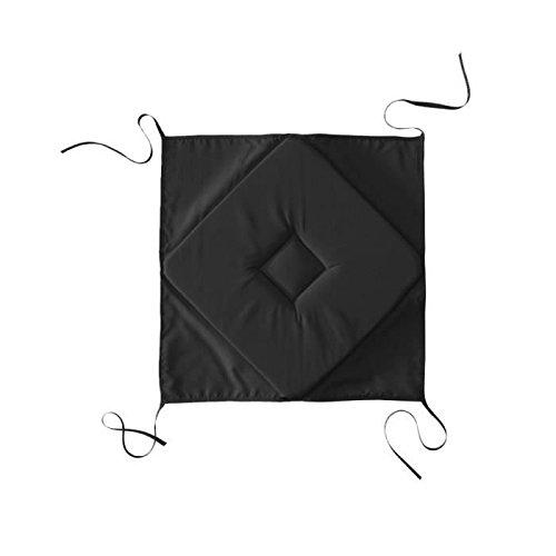 Today galette 4angoli cuscino 4angoli poliestere 40x 40x 2cm, poliestere, nero, 40x40x2 cm