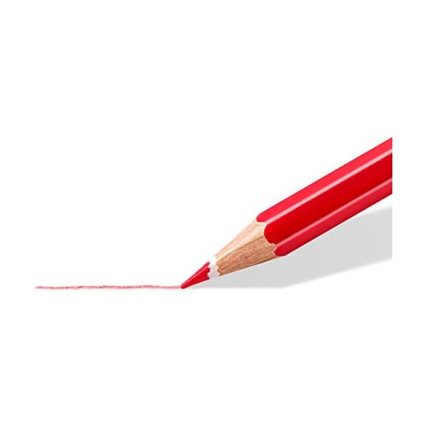 Staedtler 61 SET6 – Lápices de colores, caja con 12 unidades más lápiz y goma