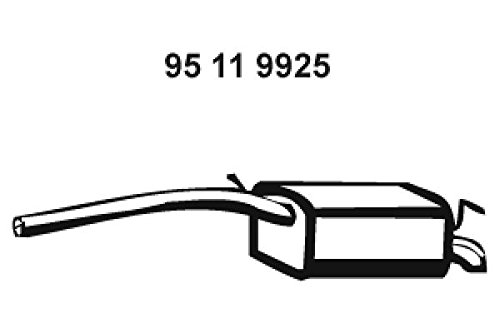 Eberspächer 95119925 Endschalldämpfer Test