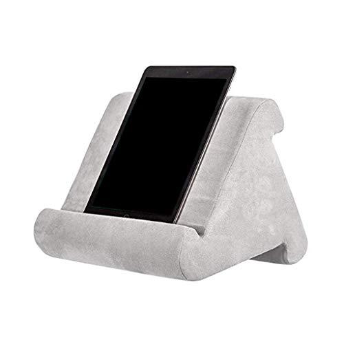 Mya Support Multi-Angle pour Coussins pour Tablettes,Soft Pillow pour Tablette,Coussin de Support pour Tablette,Téléphones Intelligents, lecteurs de Livres numériques,Livres et Magazines (Gris)