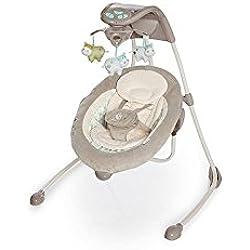 Bright Starts/Kids II 60107Balançoire haute Luxe Ingenuity inlighten Cradling, multicolore