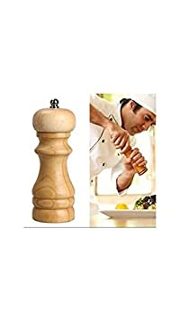 God Gift Wooden Molinillo De Pimienta Salt & Pepper Grinder Mixer Burr Mill