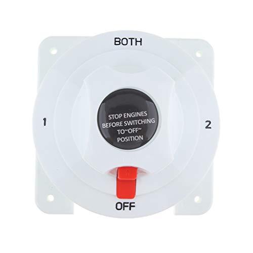B Blesiya Marine-Batterie-Wahlschalter Marine Dual Battery Wahlschalter Bewertet mit 360 A momentan (36v Batterie Marine)