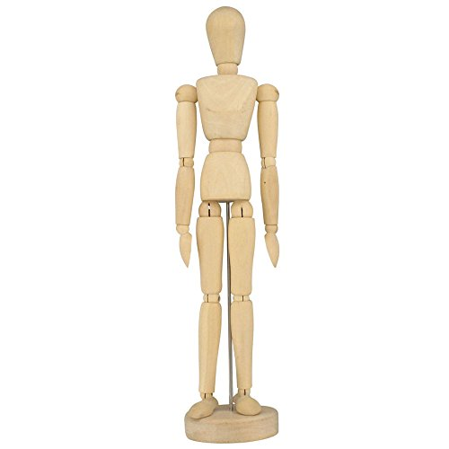 "Artists Wooden Manikin Mannequin Lay Figure 12"" (30cm)"