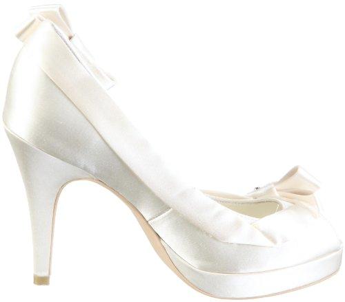 MENBUR Cocorosie 04521, Scarpe eleganti donna Avorio
