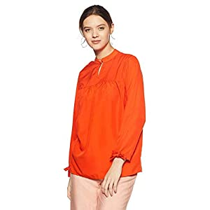 1 Stop Fashion Women's Multi Colour Crepe Top
