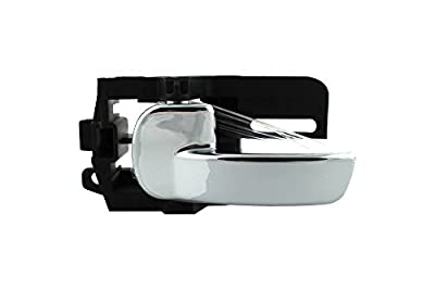 DoctorAuto DR165357 Door Handle Inside chrom Front or Rear Left