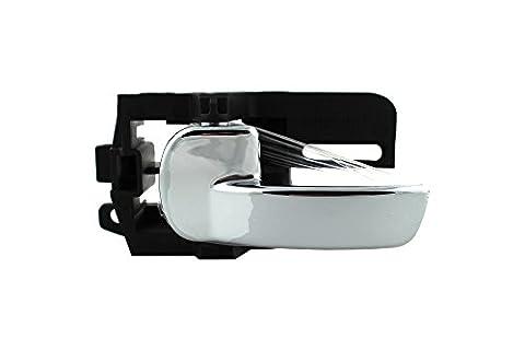 DoctorAuto DR165357 Door Handle Inside chrom Front or Rear Left