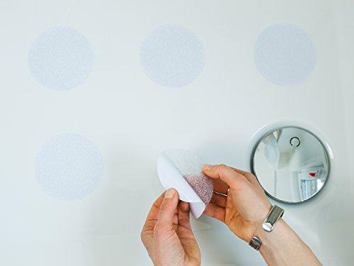 ᐅ Aumondo Anti-Rutsch Sticker für Dusche und Bad, transparent und ...