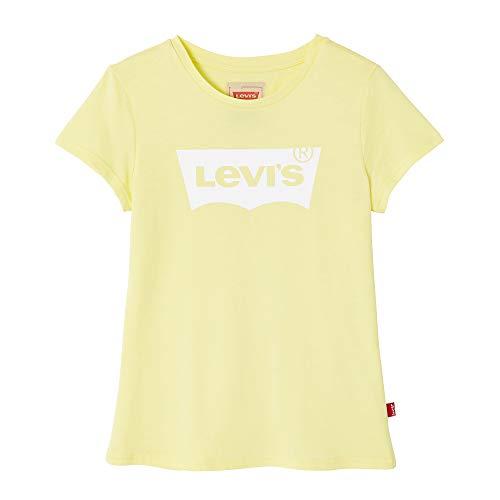 Levi's Kids Mädchen Nn10557 72 Short Sleeve Tee T-Shirt, Gelb (Mid Yellow), 16 Jahre (Herstellergröße: 16Y) -