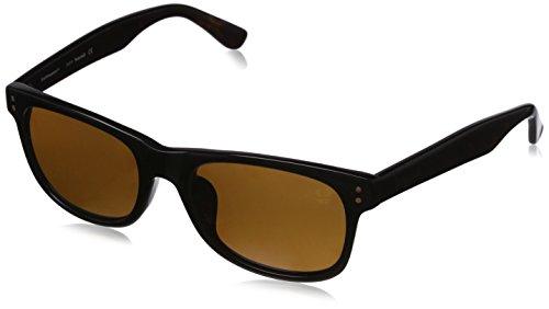 Timberland sonnenbrille tb9063-f 5501h, occhiali da sole uomo, nero (schwarz), 55