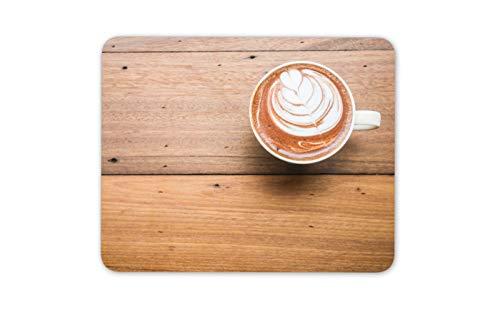 Tasse Kaffee Latte Mauspad Pad - Nostalgische Lebensmittel Seine Hers Geschenk-Computer # 14514