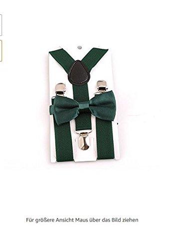 Jellbaby Cute Fashion verstellbar Harness Clip für Jungen Mädchen Geschirr Clip Kleidung Zubehör, dunkelgrün, 2.5*60 -