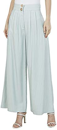 Iconic Women's 2091107 SS24MINTPNT Woven Tapered Trousers, G